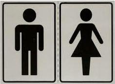 adesivo para porta de banheiro masculino e feminino - Pesquisa Google