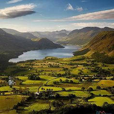 Green Fields if Cumbria   A beautiful morning on Loweswater Fell overlooking the lush green fields around Crummock Water .  Website link in profile .  #crummockwater #buttermere  Photography: @davemasseyphotography📷  Tag us: #liveuk 👌   #lake_view #lakedistrict #lakedistrictnationalpark #england #destinations #stunning #awesome #Wonderful #places #travel #Visit #earth #paradise #love #Beautiful #forest #natural #lake #greatbritain #unitedkingdom #uk