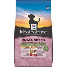 Hills Ideal Balance Adult Small Breed Natural Chicken  Brown Rice Recipe Dry Dog Food 15Pound Bag ** Learn more by visiting the image link.Note:It is affiliate link to Amazon.
