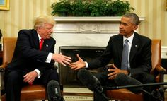Trump: I look forward to Obama's counsel
