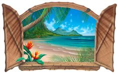 Artist David Miller original Full Sail,Seacapes and seascape paintings, Dolphin art and dolphin paintings by David Miller Dolphin Painting, Dolphin Art, Dream Painting, House Painting, Open Window, Window Art, David Miller, Caribbean Art, House Landscape