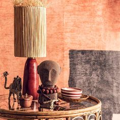 Orange Palette, Ethnic Chic, House Colors, Color Combos, Interior Decorating, Interior Ideas, Living Room Decor, Wall Lights, Pattern