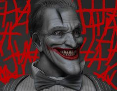 "Check out new work on my @Behance portfolio: ""The Joker"" http://be.net/gallery/44449457/The-Joker"
