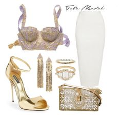 """""""Modern Fairytale"""" by taliamariah-cirillo ❤ liked on Polyvore featuring Victoria's Secret, Rick Owens, Dolce&Gabbana, Cara, Blue Nile and modern"""