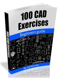 100 CAD Exercises - Learn by Practicing!: Learn to design and Models by Practicing with these 100 CAD Exercises! , 100 CAD Exercises - Learn by Practicing!: Learn to design and Models by Practicing with these 100 CAD Exercises! Civil Engineering Design, Mechanical Engineering Design, Mechanical Design, Mechanical Symbols, Design Engineer, Drawing Book Pdf, Cad Drawing, Bloc Autocad, Autocad Free