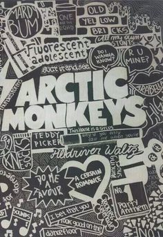 Arctic Monkeys♥ I love all there songs. Room Posters, Band Posters, Poster Wall, Poster Prints, Wall Prints, Bedroom Wall Collage, Photo Wall Collage, Picture Wall, Vintage Music Posters