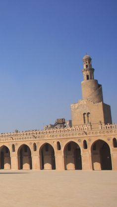 Mosque Of Ibn Tulun, Cairo,  Eygpt iPhone 5 wallpapers, backgrounds, 640 x 1136