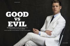 Gotham star Ben McKenzie covers the February 2016 issue of August Man Malaysia. Starring in a dapper photo shoot, McKenzie is photographed by Karl Simone. Gotham Cast, Gotham Tv, Gotham Girls, Benjamin Mckenzie, Ben Mckenzie Gotham, Jim Gordon Gotham, Military Style Coats, The Fashionisto, In Another Life