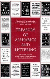 Treasury of Alphabets and Lettering (Jan Tschichold), found via the TDC