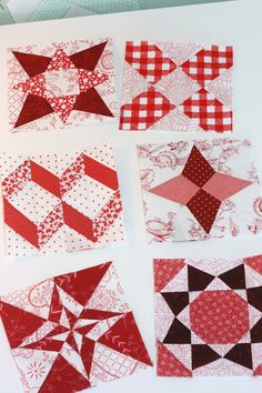some links here to info regarding Farmer's Wife quilt by paper piecing method