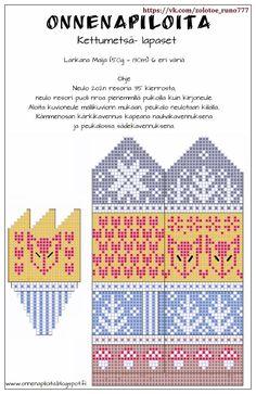 Knitted Mittens Pattern, Knit Mittens, Knitting Socks, Mitten Gloves, Hand Knitting, Knitting Charts, Knitting Patterns, Fair Isle Knitting, Christmas Knitting