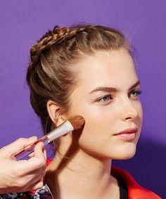 Natural-Looking Foundation Makeup