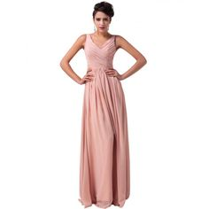Dark Salmon Long Chiffon Prom Dress from Femaleo. Saved to Women Dresses. Shop more products from Femaleo on Wanelo. Bridesmaid Dresses, Prom Dresses, Formal Dresses, Wedding Dresses, Cocktail Gowns, Black Tie, Lilac, Chiffon, Deep