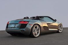 pictures Audi R8 Spyder araba modelleri