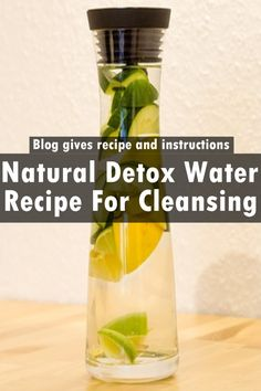 Natural Detox Water Recipe For Cleansing – You are about to learn how to detox your body, remove toxins, flush germs out of your gut and cleanse your colon using this wonderful detox water.