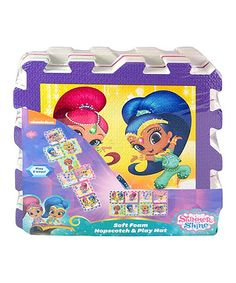 Shimmer and Shine Hopscotch Set by Shimmer and Shine #zulily #zulilyfinds
