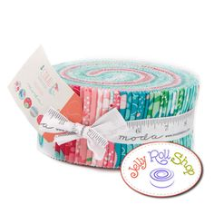 Coral Queen of the Sea Jelly Roll by Stacy Iset for Moda