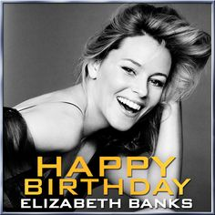 Happy birthday to The Hunger Games: #CatchingFire's @Elizabeth Lockhart Banks! REPIN to wish Effie Trinket a happy birthday!