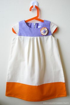 Lollipop Garden Crafts: Knock It Off Series: Color Blocked Dress