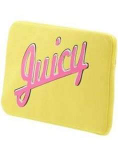 "I love this Juicy Couture Volume 10 15"" Laptop Sleeve  (via Shop It To Me)"