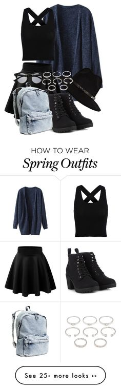 """Fun outfit :3"" by angelofthefallen on Polyvore"