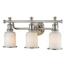 52002/3   Acadia 3 Light Vanity In Brushed Nickel - 52002/3