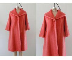 1960s Lilli Ann coat / 60s swing coat / Lilli Ann coat