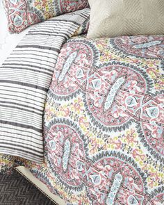 King+Chanal+Quilt+by+John+Robshaw+at+Neiman+Marcus.