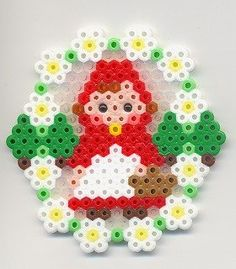 Little Red Riding Hood perler beads