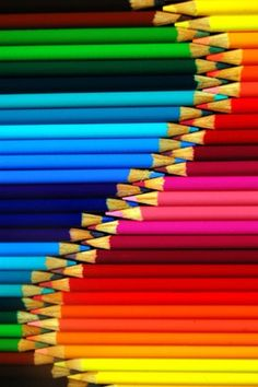 Rainbow Pencils - »✿❤Colors❤✿«  http://www.travelboldly.com/2014/07/HowToBecomeATravelWriter.html