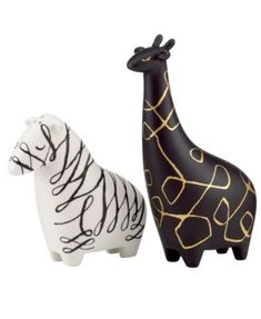 elephant Salt and Pepper Shakers | kate spade new york Salt and Pepper Shakers, Woodland Park Elephant