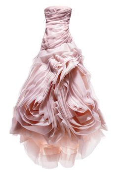 White by Vera Wang. Blush organza fit-and-flare wedding dress with a draped bodice and hand-cut bias flange skirt Browse more pink wedding dresses. Gold Wedding Colors, Pink Wedding Dresses, Wedding Dress Styles, Romantic Wedding Colors, Bridesmaid Dresses, Romantic Weddings, Bridesmaids, Vera Wang Wedding Gowns, Mode Rose