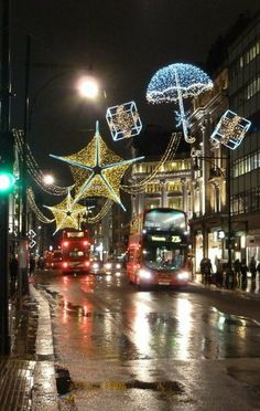 Oxford Street Christmas Lights, London  (by Chris Downer)