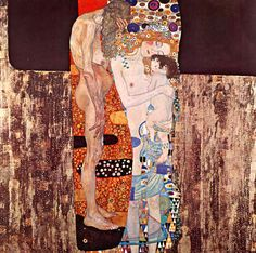Die drei Lebensalter der Frau von Gustav Klimt