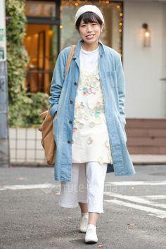 スミスさん | Satoshi Date used  GLOBAL WORK handmade BUTTERO | 2015年11月第5週 | 代官山 | 東京ストリートスタイル | 東京のストリートファッション最新情報 | スタイルアリーナ