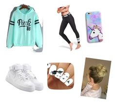 """""""Lazy day"""" by razandspot ❤ liked on Polyvore featuring NIKE"""