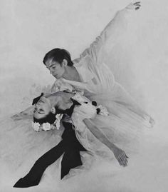Rudolf Nureyev and Margot Fonteyn