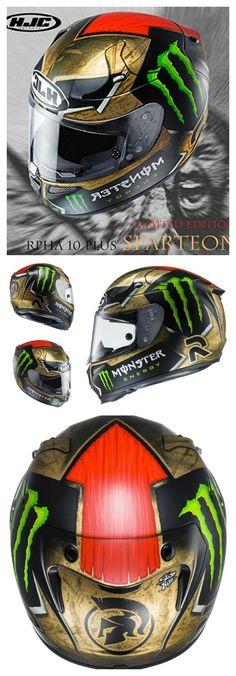 HJC RPHA 10 Pro Sparteon Lorenzo Replica Helmets