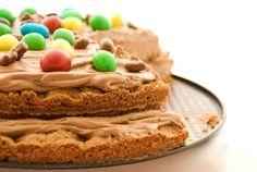 Torta compleanno cioccolato facile bambini
