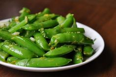 5 ways to cook sugar snap peas in a pod!