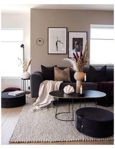 Living Room Decor Cozy, New Living Room, Bedroom Decor, Beige Living Rooms, Living Room Decor Ideas Apartment, Small Apartment Living, Living Room Storage, Living Room Colors, Small Living Rooms