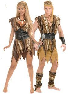 Tarzan and Jane Costumes - Adult Tarzan and Jane Couples Costume ...