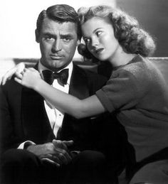 Cary Grant and Shirley Temple in The Bachelor and the Bobby Soxer (1947).