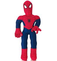 """Spider-Man™ Cuddle Pillow-This 25"""" tall cuddle pillow saves the day! Perfect for any Spider-Man fan. 25"""" H. Polyester. Imported. Regularly $24.99, buy Avon cosmetics online at http://eseagren.avonrepresntative.com"""