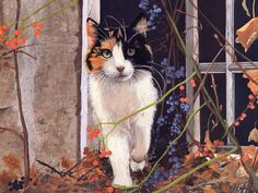 Persis Clayton Weirs  http://www.catsfineart.com/html/cat_portraits_153.php