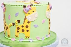 Giraffe, New Baby Cake | Dream Day Cakes