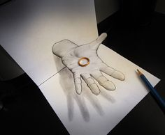 Best and Stunning 3D Pencil Drawings Art Collection by techblogstop 9