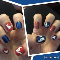 Are you ready for some football?! Houston Texans Nails! http://www.getjammedup.com