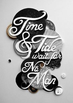 Ciara Phelan: Collage type typography hand lettering photo illustration graphic design cutout paper art
