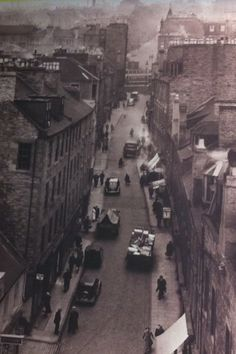 Old Dundee Wellgate area -from the late 60's ( at top of photo ) old steep Wellgate steps were so dangerous for public to safely negotiate ( especially as so many public bars in that area in those days ), inebriated citizens required risk assessments before they could leave the bar to stagger home ( health and safety implications n all that !!)